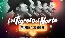 ¡Los Tigres del Norte en el Auditorio Nacional!